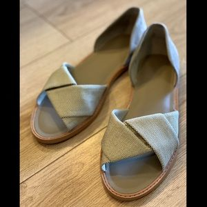 Vince Idara Twisted D'Orsay Sandals